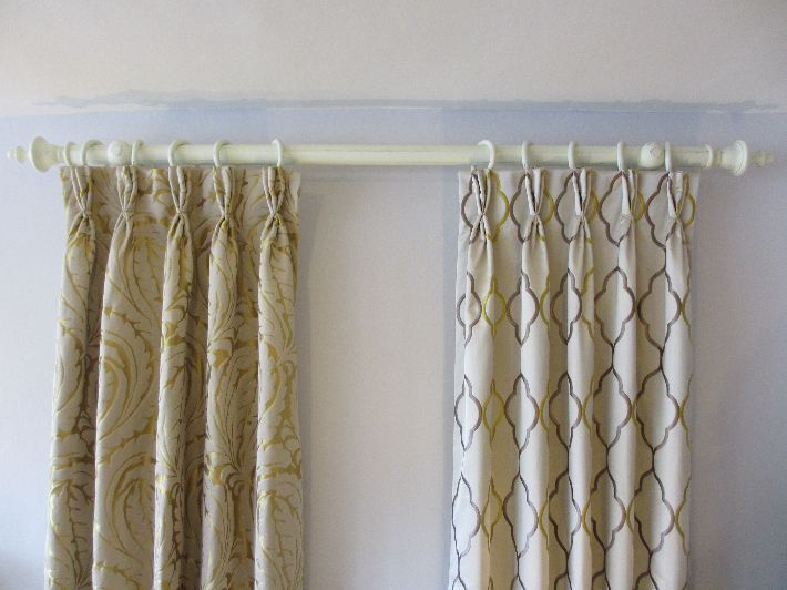 Interlined Triple Pinch Pleat Curtains