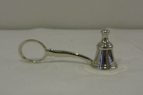 Small Silver Candle Snuff