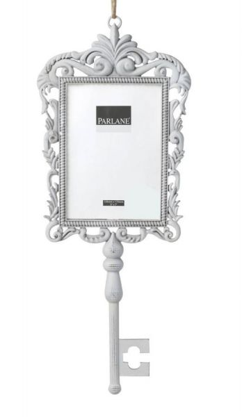 White Key Picture Frame