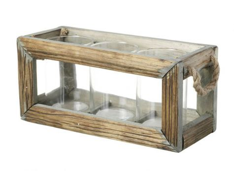 Tealight Holder Set in Crate