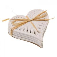 White Heart Coasters